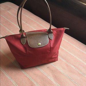 Longchamp Bags - Longchamp red Le Pilage purse